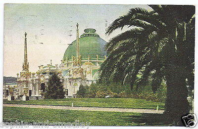1915 Pan Pacific Expo PPIE - Palace of Horticulture - Colorized Postcard