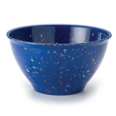 Rachael Ray 4 Quart Garbage Bowl Melamine Mixing Bowl Blue