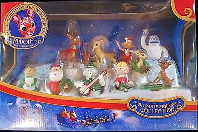 Forever Fun Rudolph Red Nosed Reindeer Ultimate Figurine Collection