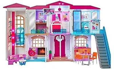 New Barbie Hello 2-Story Dreamhouse Play Set w/ Wi-Fi Enabled Speech Recognition