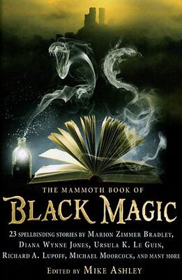 The Mammoth Book of Black Magic,PB,Mike Ashley - NEW