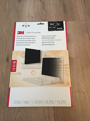 3M Black Privacy filter PF14.1W