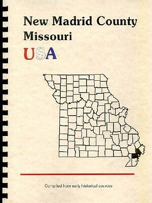 New Madrid City/county~1888 Missouri History/biography~Point Pleasant Mo~New Rp!