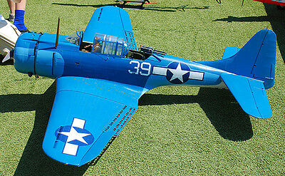 Giant 1/5 Scale  American WW-II Douglas SBD-5 Dauntless  Plans and Templates