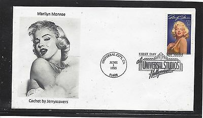 Marilyn Monroe Fdc 1995 Universal City, California Only One Made Actress