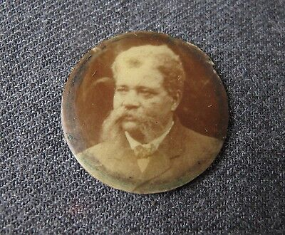 Antique Early 1900's Black Americana Miniature Rounded Photo For Locket