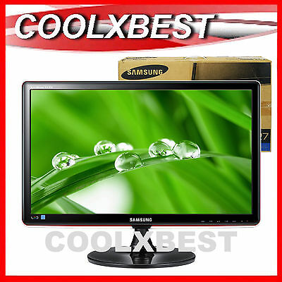 """SAMSUNG 27"""" FULL HD LED LCD PC MONITOR 2ms 16:9 WIDE SCREEN 1080p UPSCALE HDMI"""