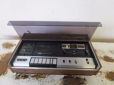 C52018 Vintage Retro SHARP Dolby System Stereo Cassette Tape Deck RT480X WORKING