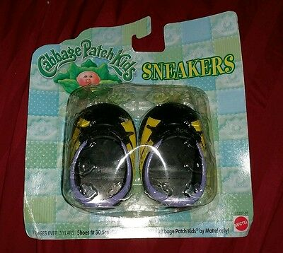 Cabbage Patch Kids Sneakers 1998 In Original Package MATTEL BRAND NEW RARE HTF