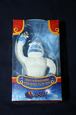 Rudolph The Red Nosed Reindeer Bumble Christmas Clip On Key Chain Ornament - New