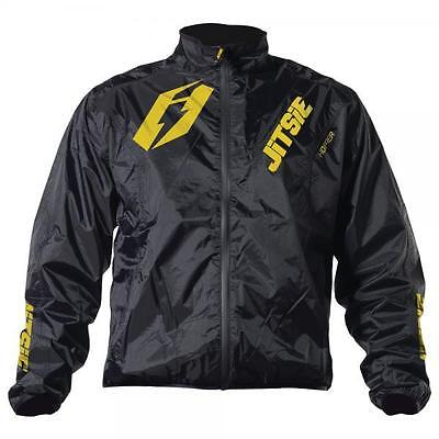 New Jitsie Hopper Trials Motocross Waterproof Rain Jacket Light Weight Yellow