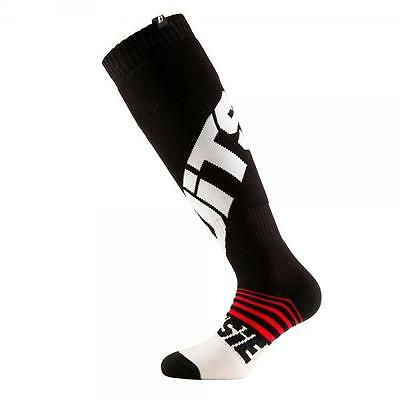 New Jitsie Airtime Black & Red Long Socks Trials MX Enduro SPECIAL OFFER