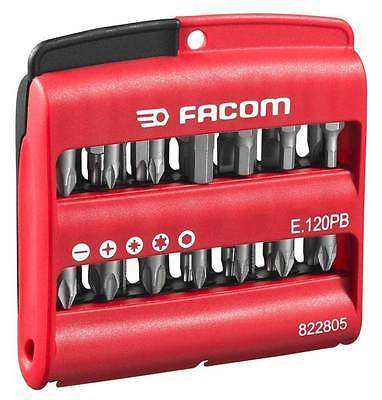FACOM TOOLS NEW SCREWDRIVER BIT SET CASE 28pce PHILIPS POZI SLOTTED