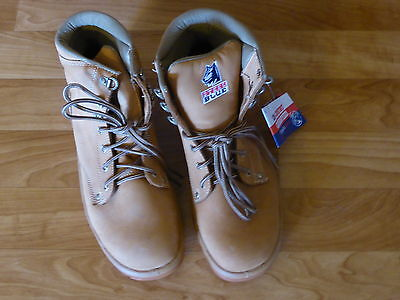 Steel Blue Safety Boots 312102 Argyle Wheat Size:9