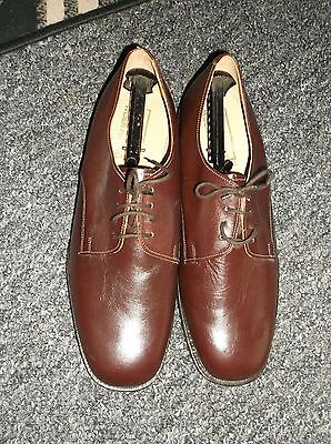 Men`s Durstons Wider Fitting size 10.5 tan shoe`s NEW sole Golfer ITSHIDE