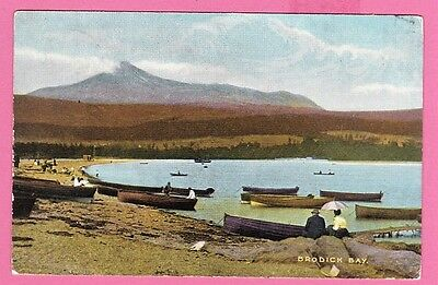 Brodick Bay, Isle of Arran, Bute, Scotland. Dated 1912.