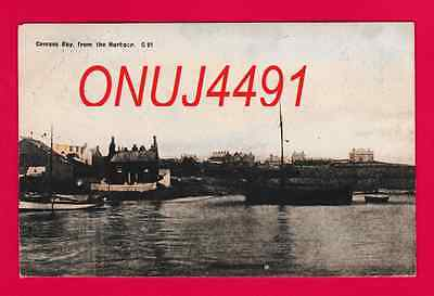 Dated 1918. Cemaes Bay from the Harbour, Anglesey