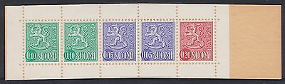 155) Finland - Suomi 1968 - Complete Booklet  Mnh  - Lion Stamps