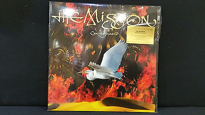 The Mission ' Carved In Sand ' Lp Mint & Sealed Red Limited 180 Grms Numbered