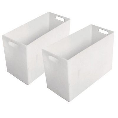 """Outfitters Pannier Inserts PolyPac 2 Pack 23"""" x 16"""" x 11"""" White WPA123"""