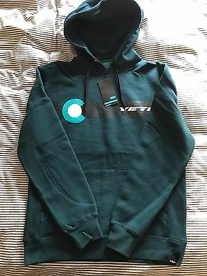 Yeti Cycles Mayday Track Pullover Hoodie Large BNWT