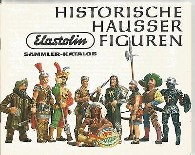 Original 1980 German Elastolin collector catalogue advertising; historic figures