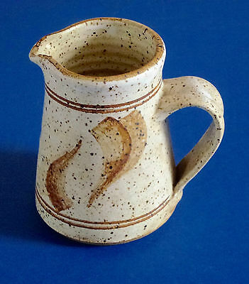 Colin Pearson-Studio Pottery-Jug-Handcrafted And Handthrown-Signed.