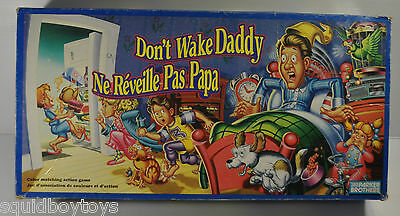 DON'T WAKE DADDY Parker Brothers BOARD GAME Complete 1990s