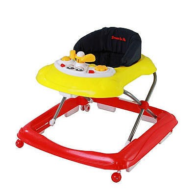Dream on Me Scout Musical Walker and Activity Center - Red