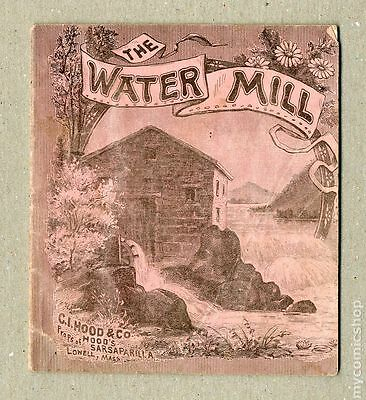 The Water Mill (1890) Hood's Sarsparilla  #1 VG- 3.5