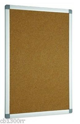 Cork Boards Wooden Pin Message Aluminium Frame Notice Board Memo Cork Menu New