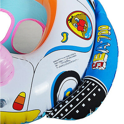 Baby Swimming Seat Ring Inflatable Aid Trainer Various Cartoon Designs HFCA