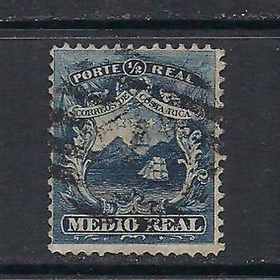 """COSTA RICA: #1 """" first stamp"""" – used --"""