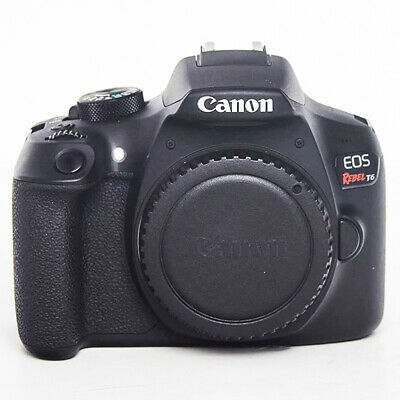 Canon EOS Rebel T6 (EOS 1300D) 18.0MP Digital SLR Camera (Body Only)