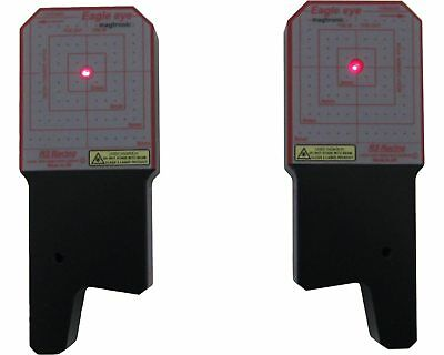 Set of R3 Racing Magtronic Magnetic Front Laser Alignment System