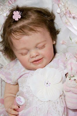 "Limited Edition ""Lucrecia"" by Natalie Blick Reborn Doll Baby Girl"