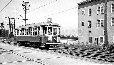 Trolley Negative: Vancouver Bcer 261 Cedar Cottage 1948 - See Green Box