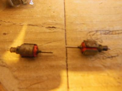 Two Tri-Ang Railways Tt Gauge Mark 1, Xt 60 /xt91 Armiture Only Used Untested 65