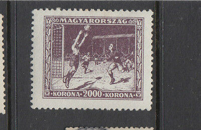 A very nice mint Hungarian 1925 Sports Fund 2000kr issue