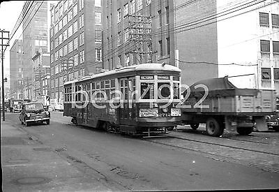 Trolley Negative Toronto Ttc 2712 Adelaide Btw Charlotte & Peter - See Green Box