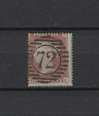 A very nice old GB Victorian Penny Red Ivory Head perforated issue