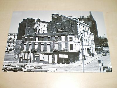 1975 Photograph Liverpool Stork Hotel Queen's Square-Charlotte St. Modern Print
