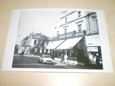 1971 Photograph Of Liverpool Bedford Stores Myrtle Street Modern Print Off Old N