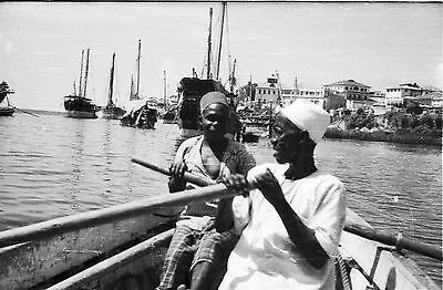 35Mm Black White Negatives Five Ships Boats Dhows Tourist Holiday 1950-1960`s B