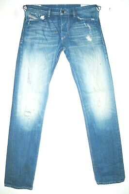 cb161c62 *HOT AUTHENTIC Men DIESEL @ KOOLTER 8X2 Slim TAPERED Jeans 33 x 34 (Fit