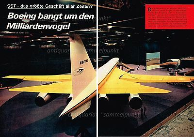 Boeing Model 733 / 2707 SST Project - Original Bericht von 1967