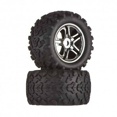 TRAXXAS 4983A -  COPPIA GOMME MONSTER TRUCK ESAGONO 17mm