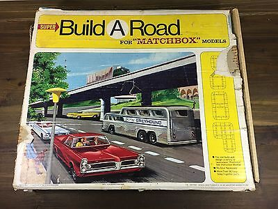 Vintage 1967 Fred Bronner Super Matchbox Build A Road Replacement Parts