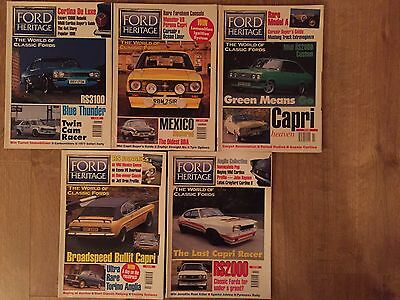 Ford Heritage Magazines