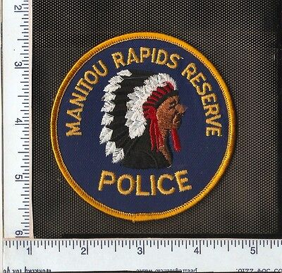 for auction,1 First Nations Police shoulder patch,MANITOU RAPIDS RESERVE,ONT